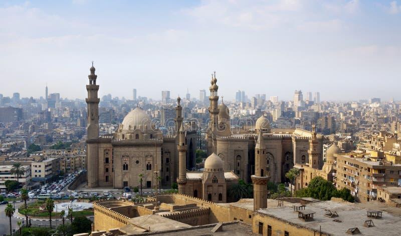 Foto der Kairo-Skyline, Ägypten lizenzfreie stockfotografie