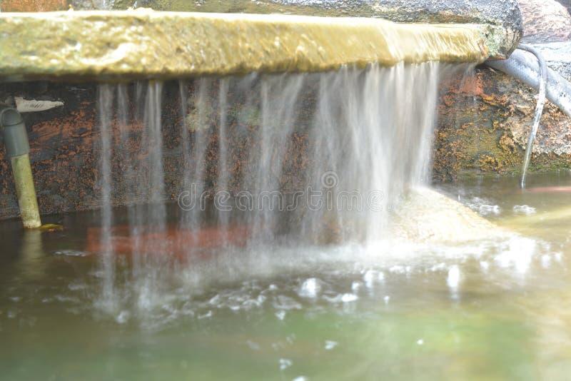 Foto der Wasserbewegung mit langsamem tireur lizenzfreie stockbilder