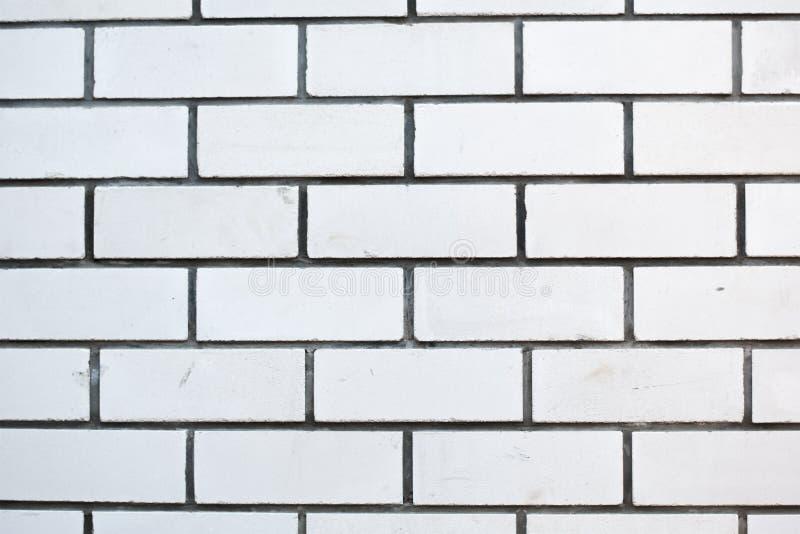 Foto der weißen Backsteinmauer stockbilder