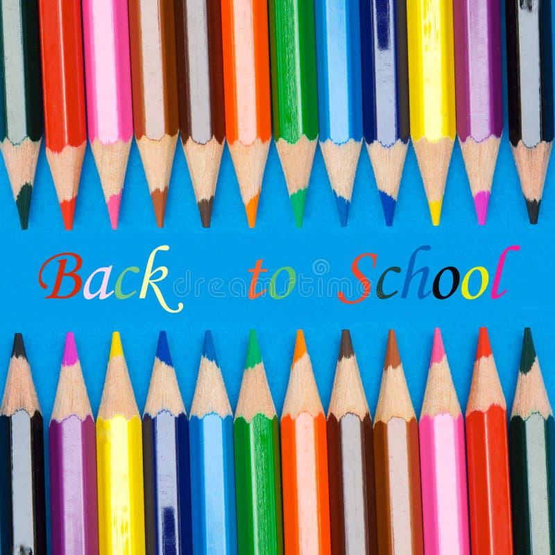 Foto des Konzeptes des Zurückbringens zur Schule lizenzfreies stockbild
