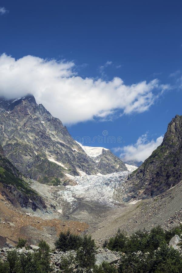 Foto di concetto di turismo di viaggio Georgia/Svaneti/Mestia immagine stock libera da diritti