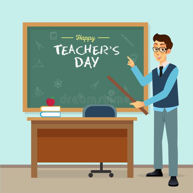 Foto di Happy Teacher Day fotografia stock