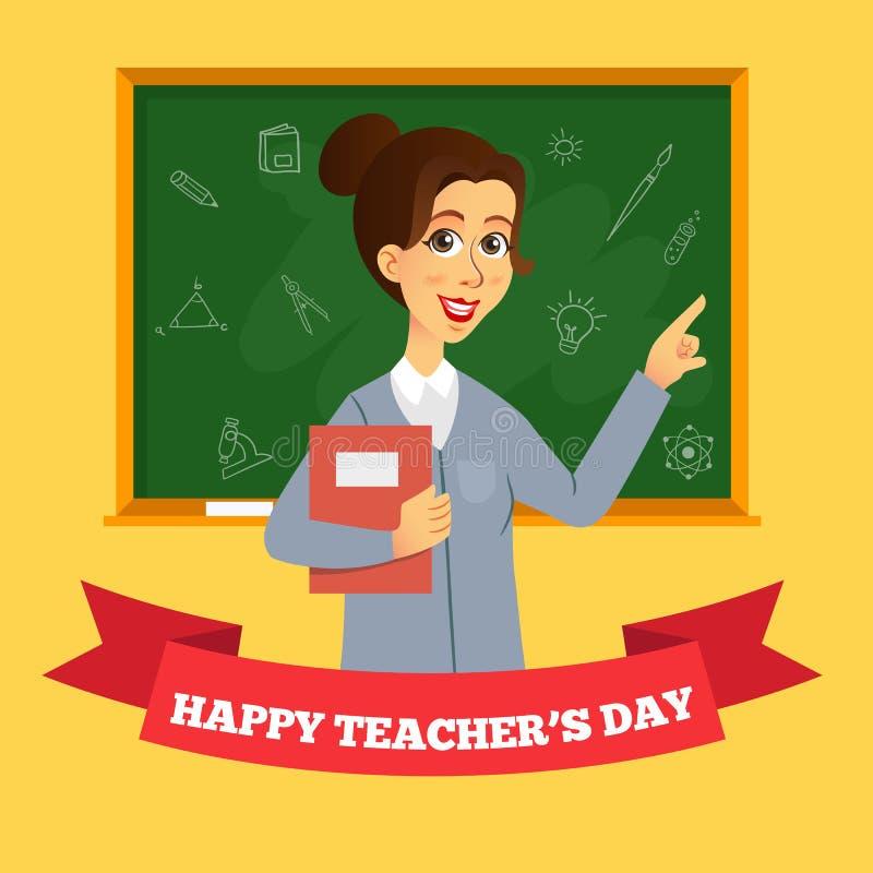 Foto di Happy Teacher Day immagini stock libere da diritti