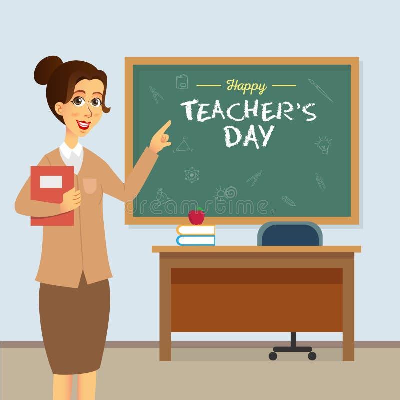 Foto di Happy World Teacher Day fotografia stock libera da diritti