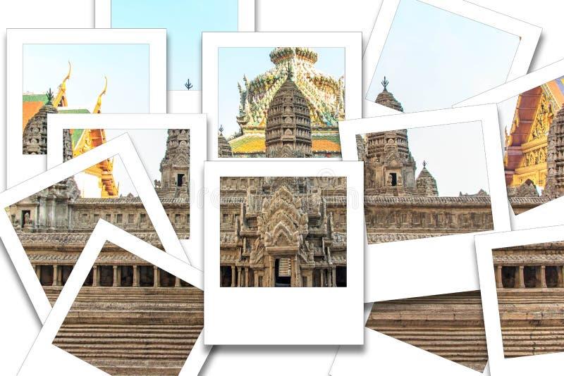 Foto di istante di modo di Angkor Wat fotografia stock libera da diritti
