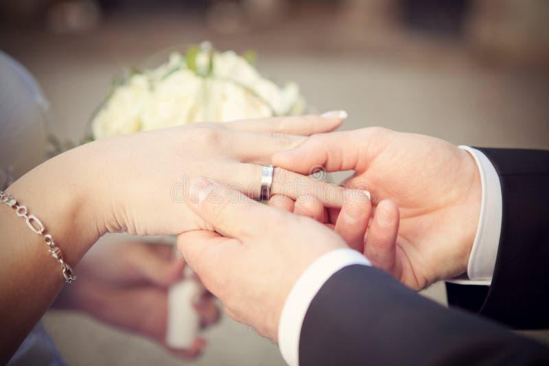 Foto di nozze fotografie stock libere da diritti
