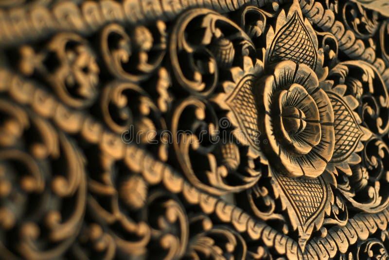 Foto di riserva del reticolo di legno fotografia stock libera da diritti