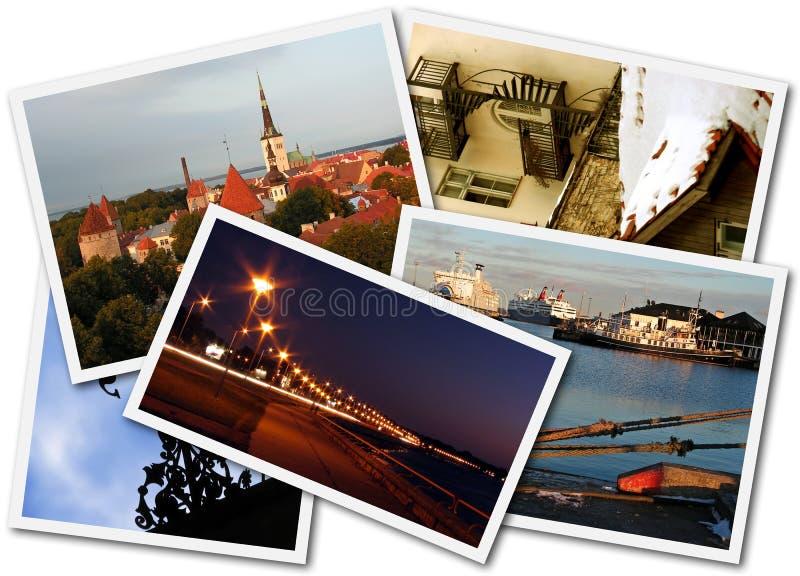 Foto di Tallinn fotografia stock
