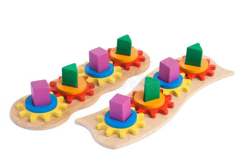 Foto di un giocattolo di legno fotografia stock libera da diritti