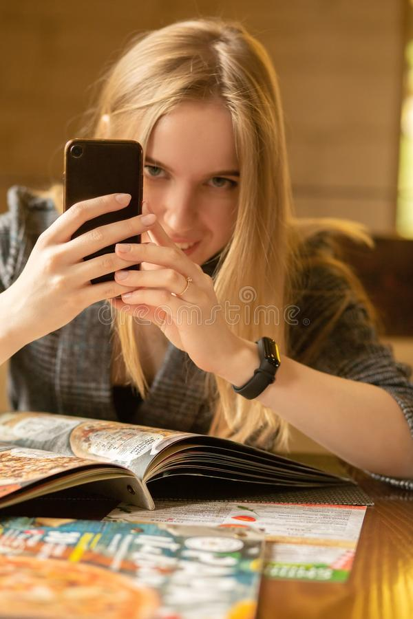 Foto di una ragazza immagine stock libera da diritti