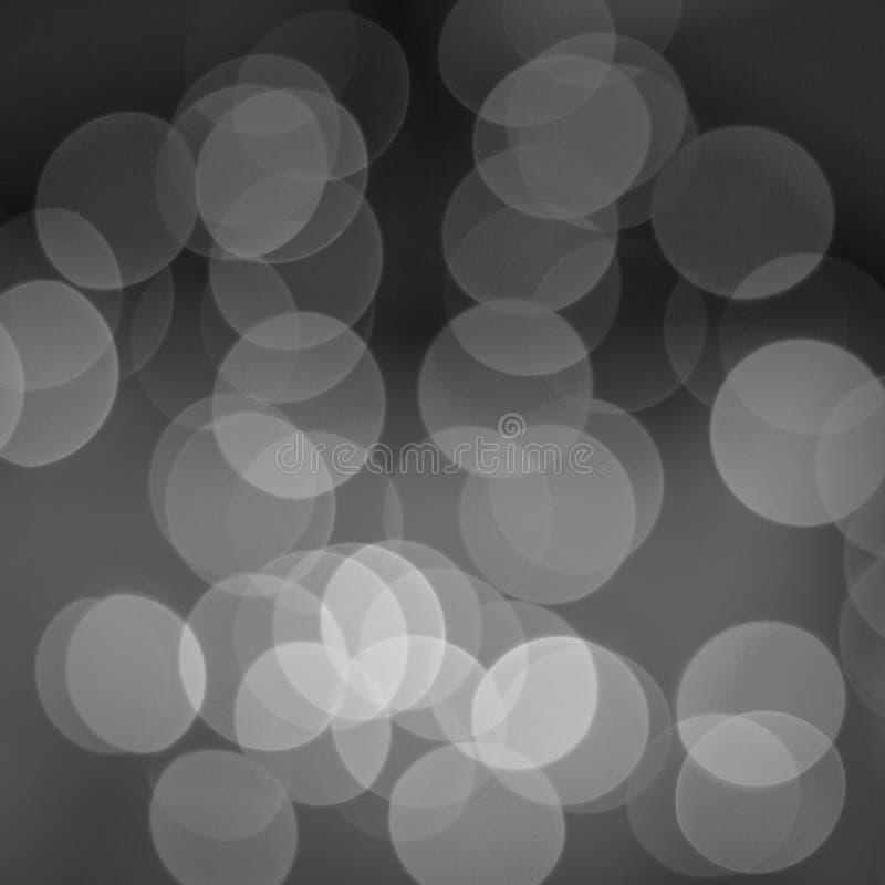 Foto digitale quadrata del fondo dei cerchi bianchi e neri fotografie stock libere da diritti