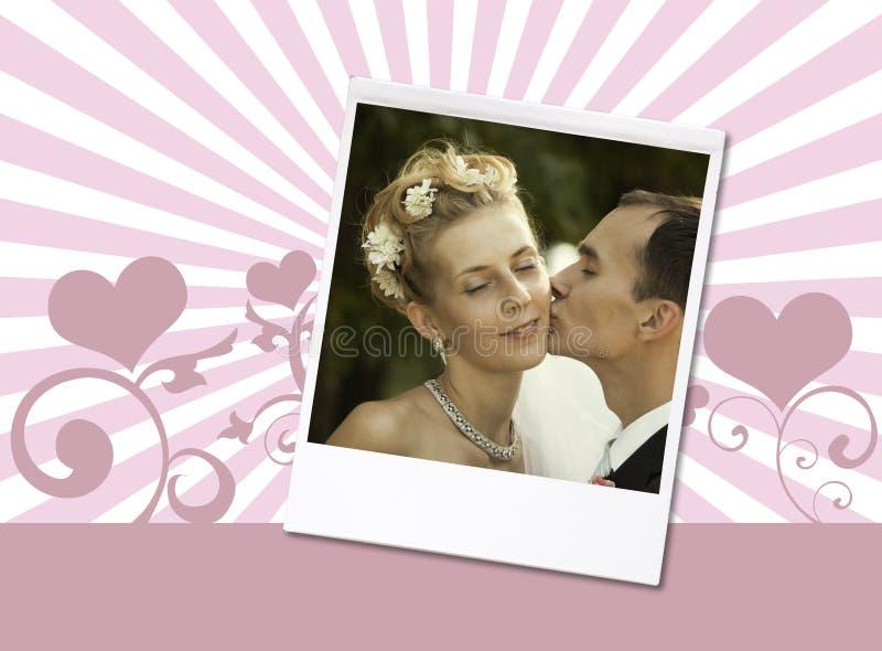 Foto do casamento imagem de stock