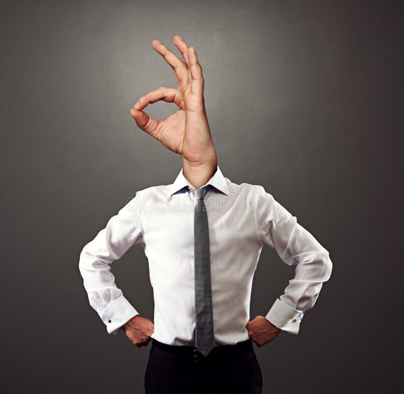 Foto do conceito do homem de negócios bem sucedido fotos de stock