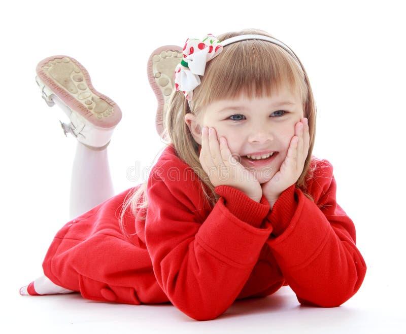 Foto do estúdio das crianças center foto de stock