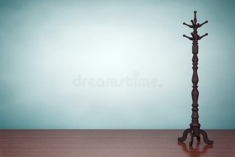 Foto do estilo velho Cremalheira de madeira do revestimento do vintage ilustração royalty free