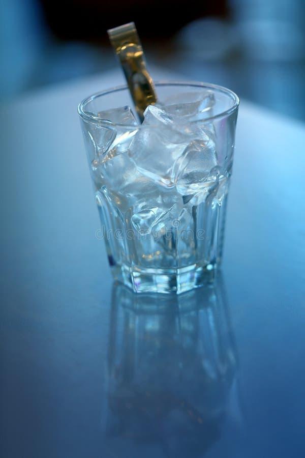 Foto do macro azul do gelo de grande foto de stock royalty free