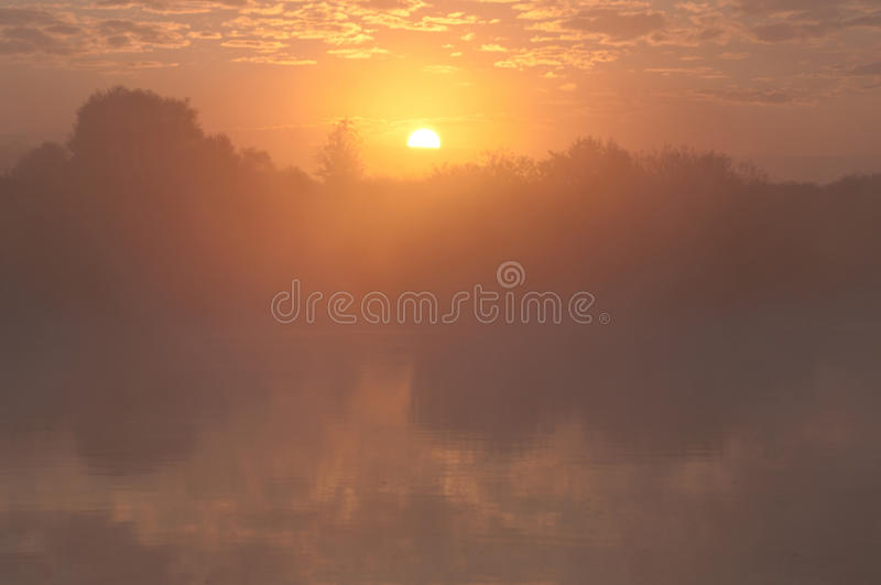 Foto do nascer do sol fotografia de stock royalty free