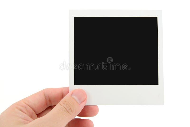 Foto do Polaroid foto de stock