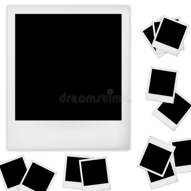 Foto do Polaroid ilustração do vetor