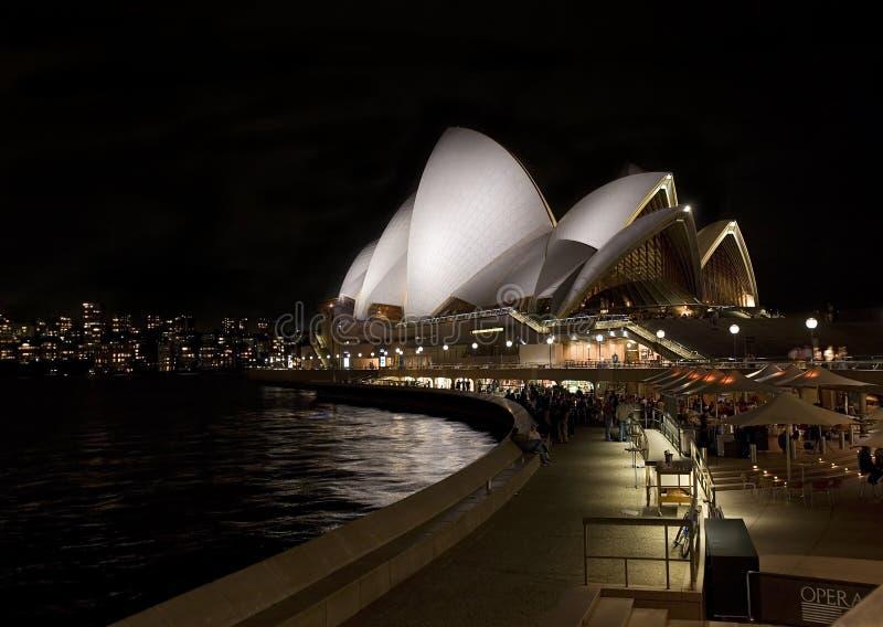 Foto do teatro da ópera em Sydney, Austrália imagens de stock royalty free