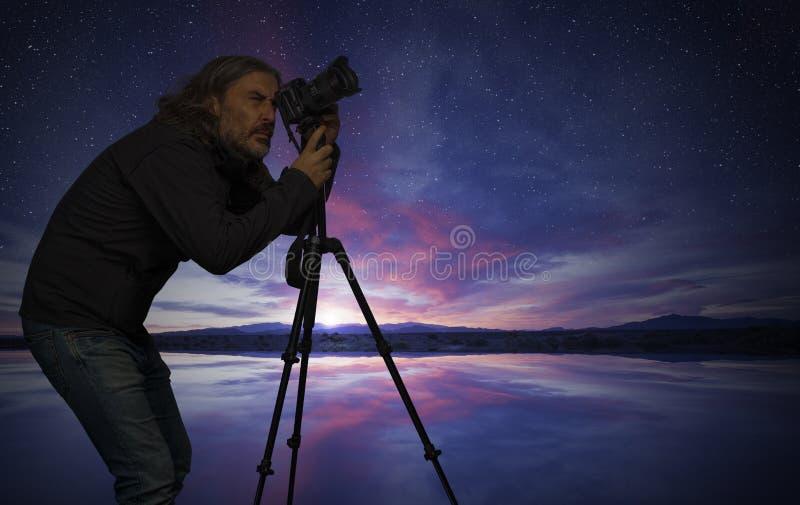 Foto do tiro do homem fotografia de stock