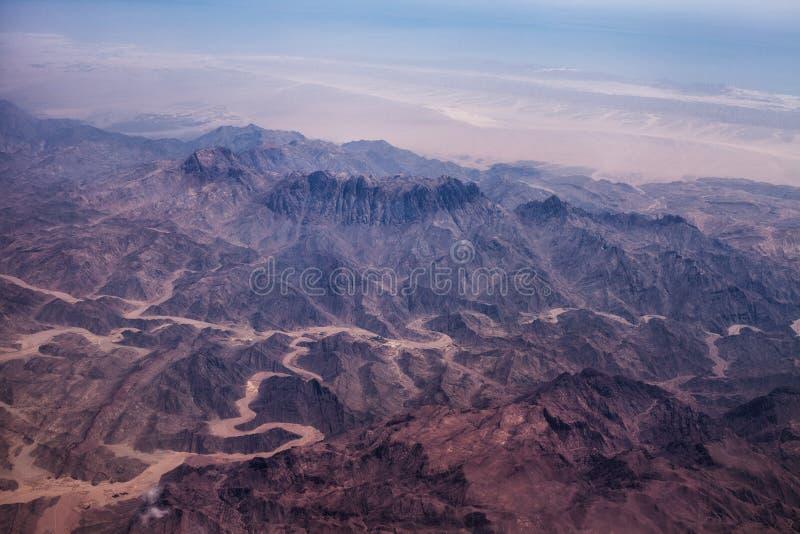 Foto einer Wüste stockfotografie