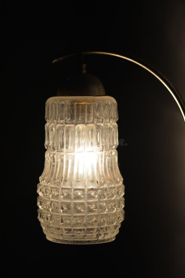 Foto eines hängenden Lichtes stockfoto