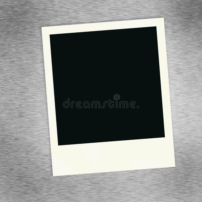 Foto em branco ilustração stock