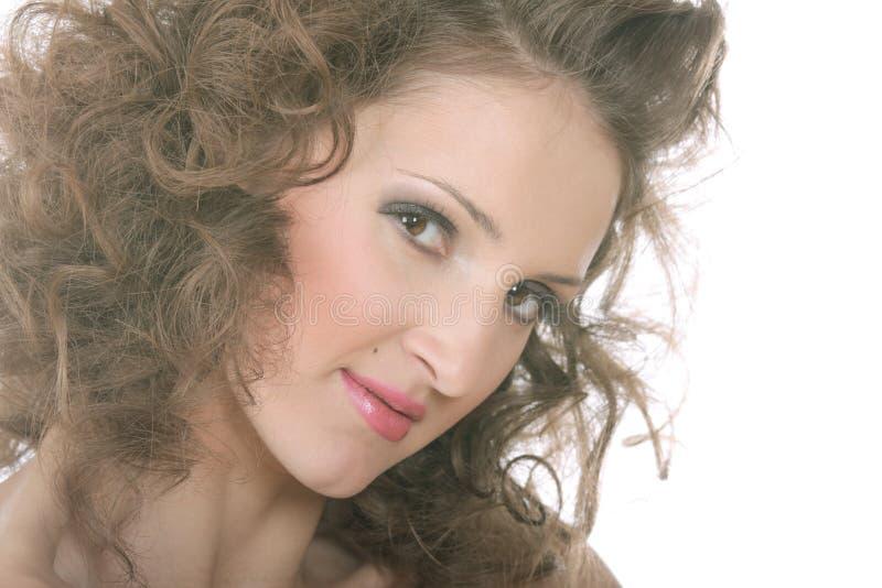 Download Foto Encrespada Del Primer De La Mujer Imagen de archivo - Imagen de cara, belleza: 7278225