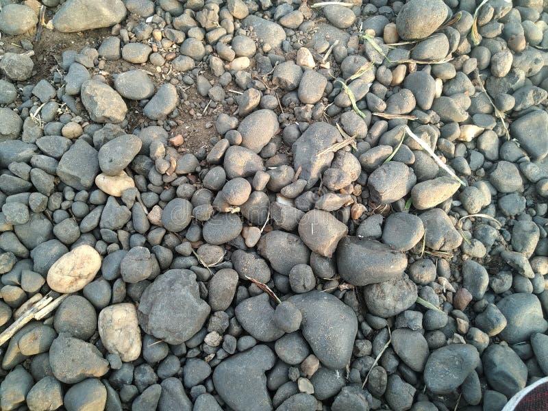 Foto för freshstone för vatten för stenflodnarmada mobilt royaltyfria bilder