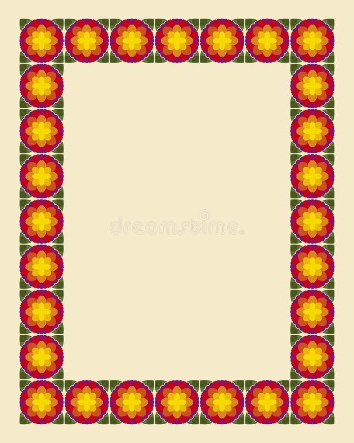 foto för nouveau för konstkantram vektor illustrationer