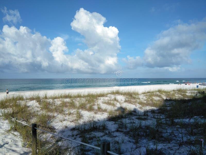 Foto hermosa de la playa fotografía de archivo
