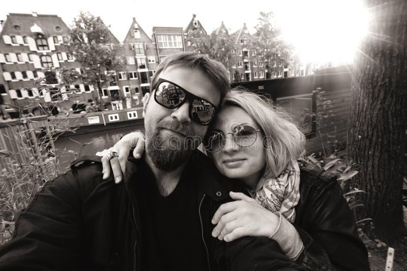 Foto i Amsterdam arkivbilder