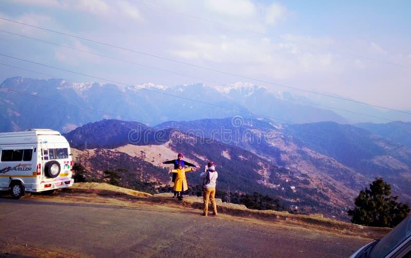 Foto impressionante della montagna di jammu fotografia stock