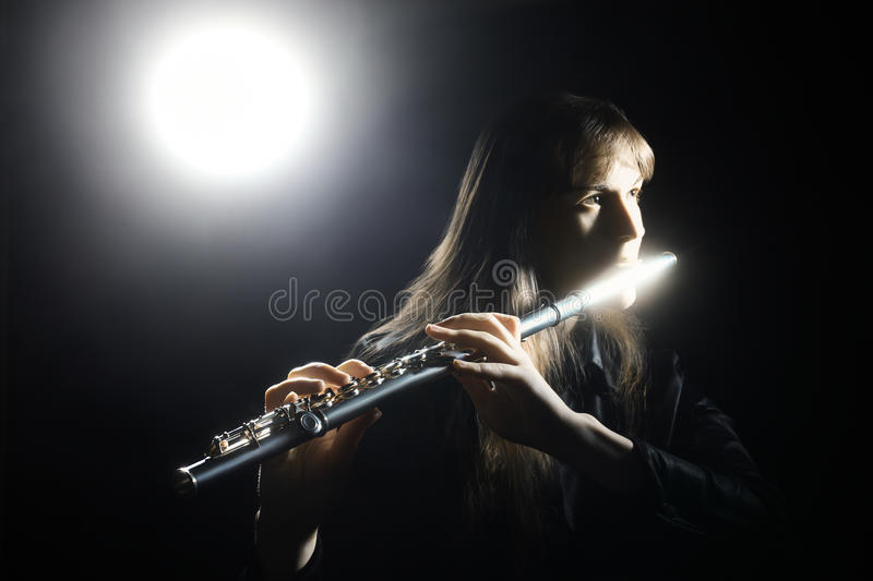 Foto inspirada de la bella arte del músico foto de archivo libre de regalías