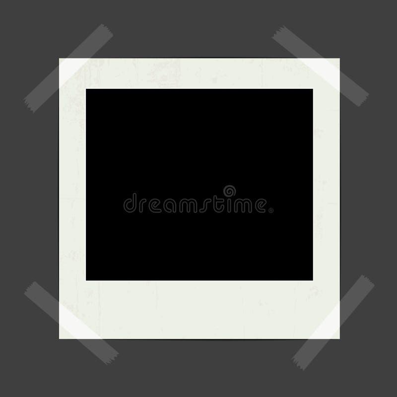Foto istante in bianco royalty illustrazione gratis
