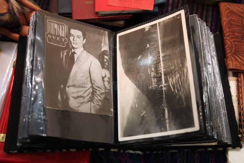 Foto Longtime de Alain Delon no álbum moscow 16 05 2018 imagem de stock
