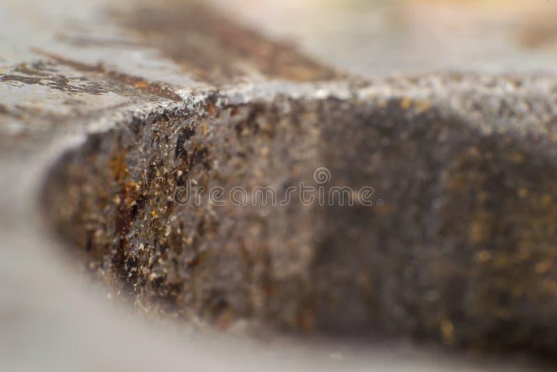Foto macro de uma chave oxidada imagem de stock royalty free