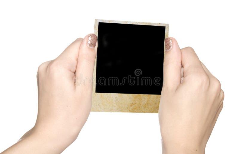 Foto in mani immagini stock