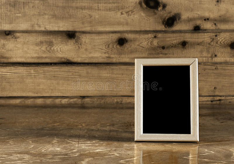 Foto-marco de la vendimia, sepia fotografía de archivo