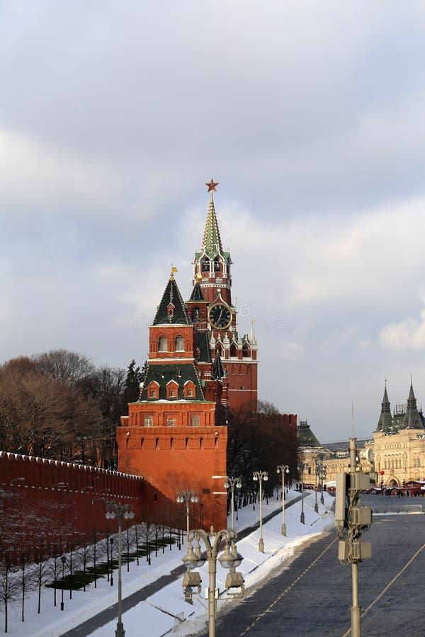 Foto Moskou het Kremlin stock afbeelding