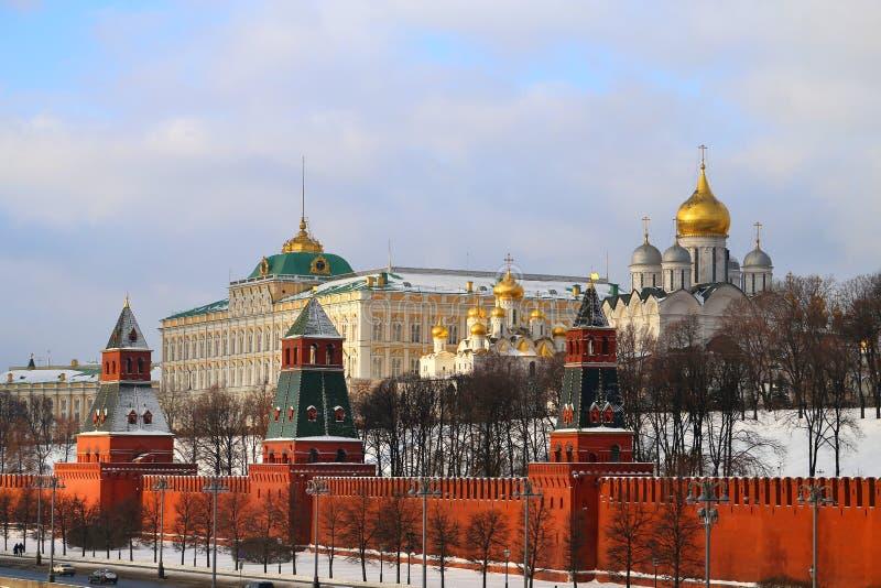 Foto Moskou het Kremlin stock foto