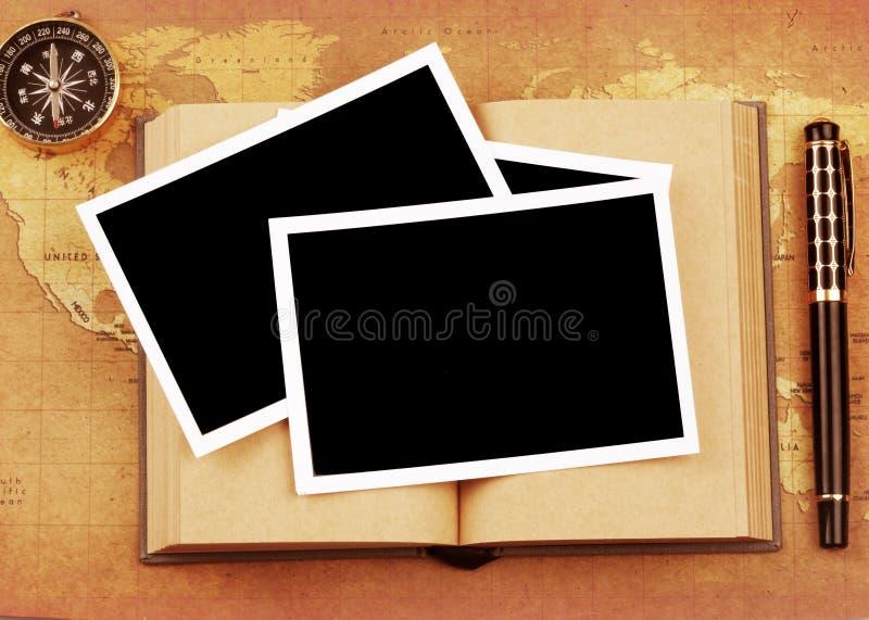 Foto no livro imagens de stock royalty free