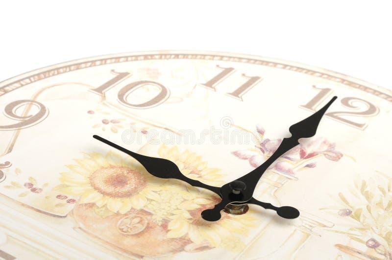 Foto parziale della struttura di un orologio senza copertura del fronte fotografia stock libera da diritti