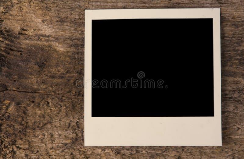 foto polaroidu pokładowego drewna obrazy royalty free