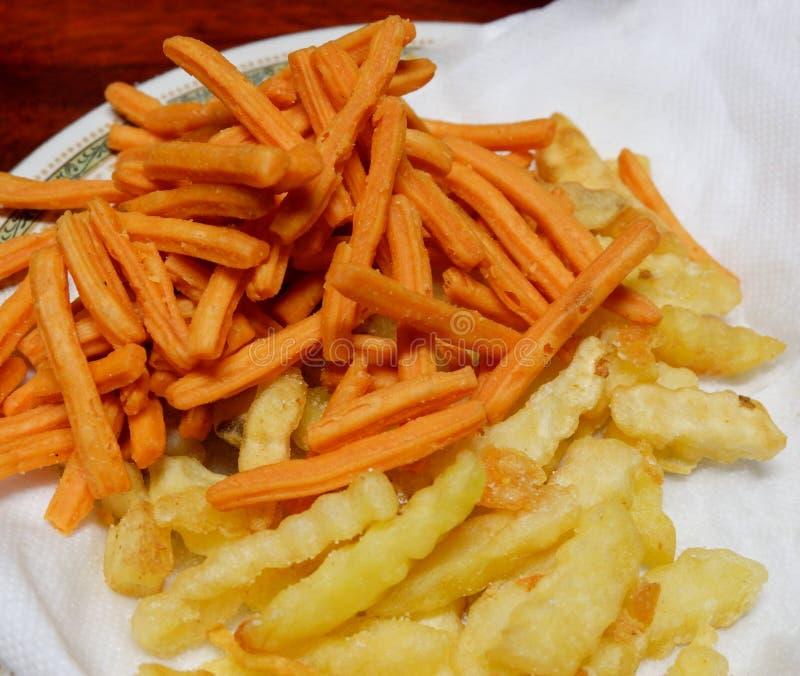 Foto-Pommes-Frites lizenzfreie stockbilder