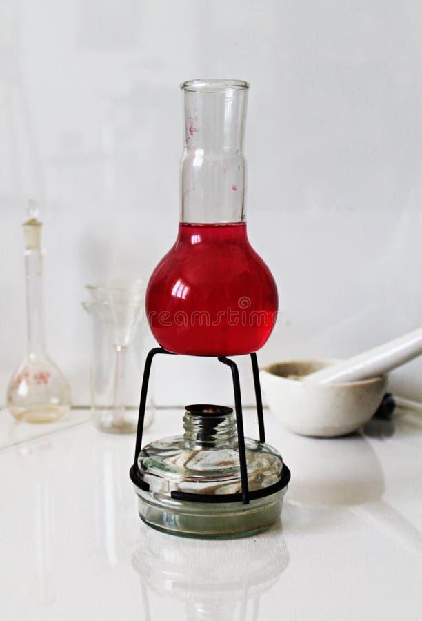 Foto química do laboratório imagens de stock