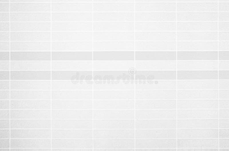 Foto reale di alta risoluzione della parete bianca delle mattonelle fotografia stock libera da diritti