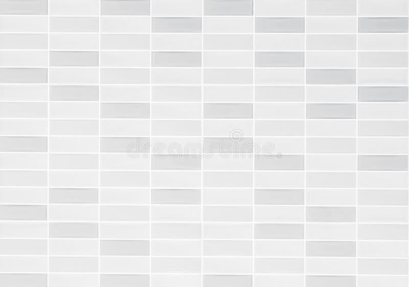 Foto reale di alta risoluzione della parete grigia delle mattonelle Modello delle forme geometriche Retro fondo dei pantaloni a v fotografia stock