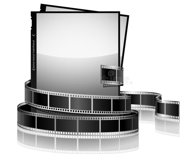 Foto's en film royalty-vrije illustratie